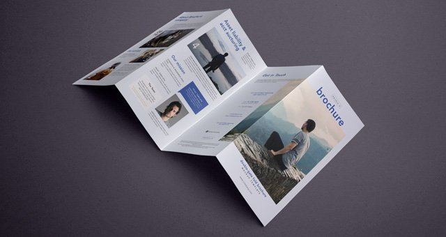 Gate Fold Brochure Template Beautiful Psd Double Gate Fold Brochure Vol6 Psd Mock Up Templates