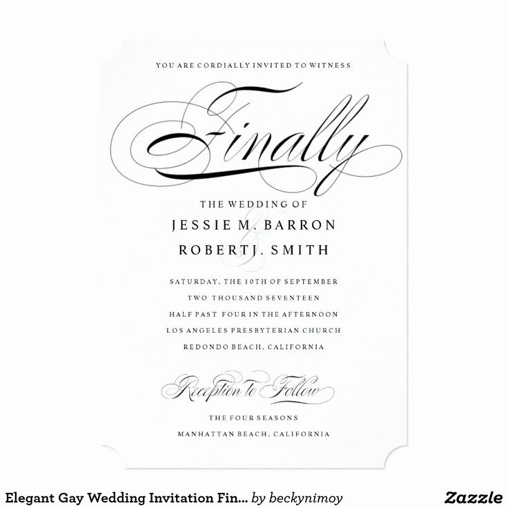 Gay Wedding Invite Wording Beautiful 22 Best Gay & Lesbian Wedding Invitations Images On Pinterest