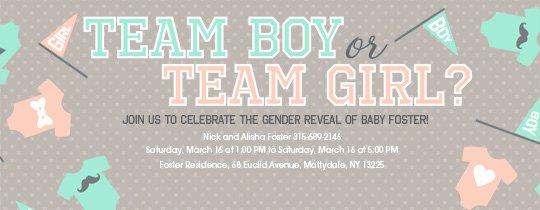 Gender Reveal Invitation Templates Luxury Free Gender Reveal Party Line Invitations