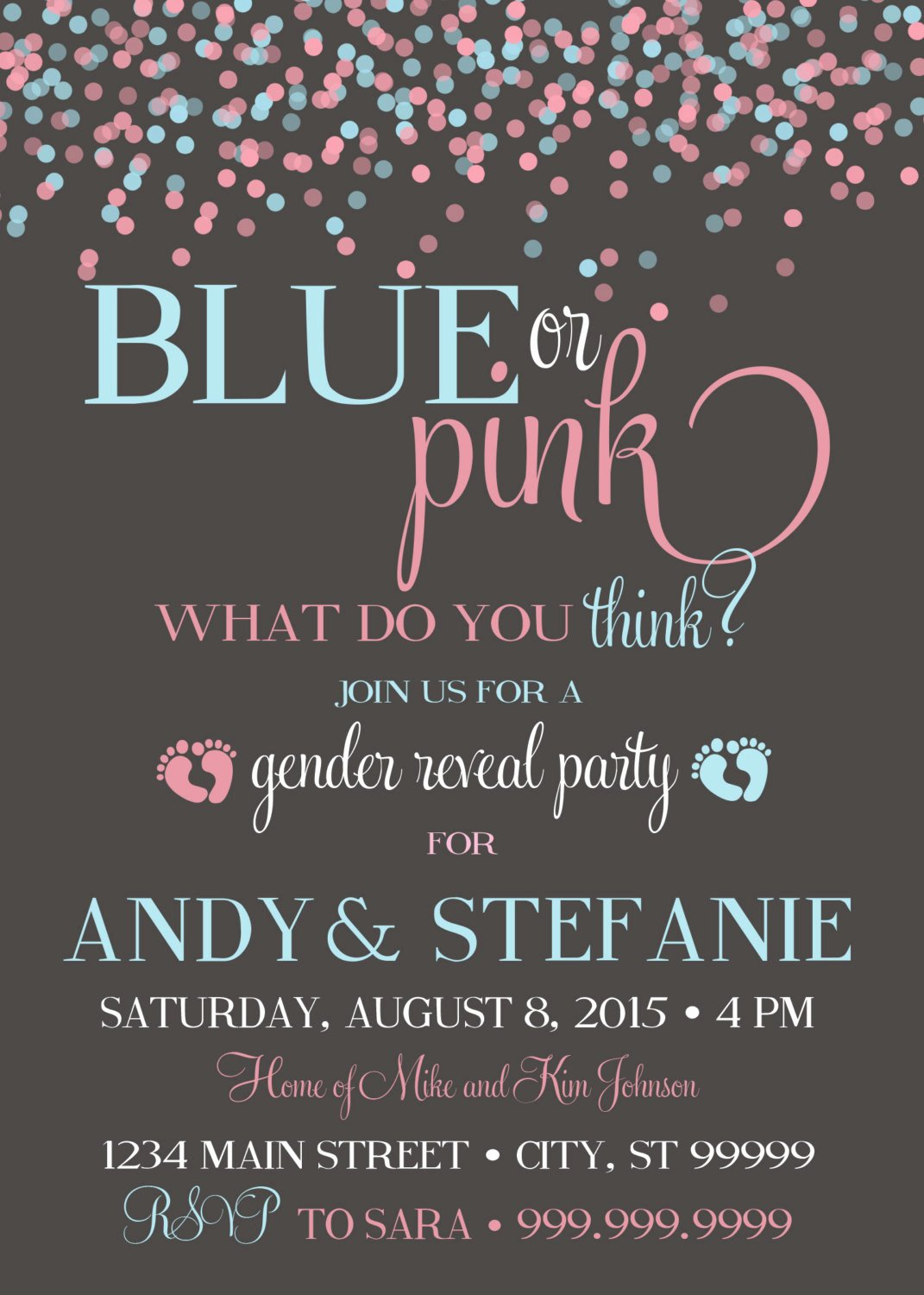 Gender Reveal Party Invitation Templates Best Of 10 Baby Gender Reveal Party Ideas Baby Shower