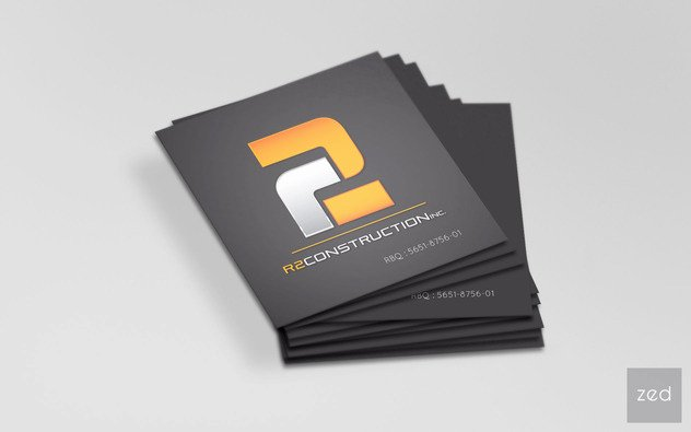 General Contractor Business Cards Lovely Zedimage Conception De Sites Web Infographie