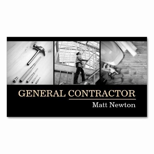 General Contractor Business Cards New 21 Best Images About Business Card Ideas On Pinterest