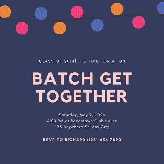 Get together Invitation Message Beautiful Customize 36 Get to Her Invitation Templates Online Canva