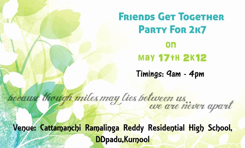 Get together Invitation Message Elegant Get to Her Invite by Mistyfire01 On Deviantart