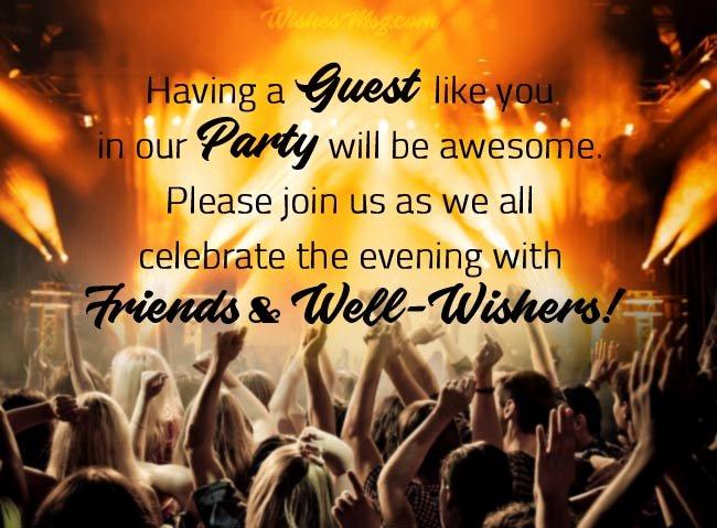 Get together Invitation Message Elegant Party Invitation Messages Party Invitation Examples and
