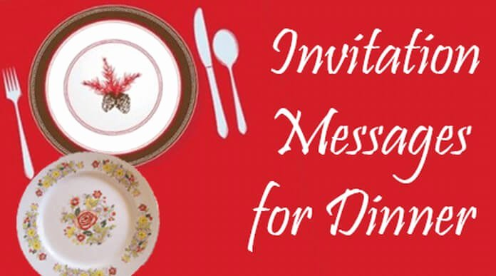 Get together Invitation Message Inspirational Invitation Messages for Dinner Dinner Party Invitation