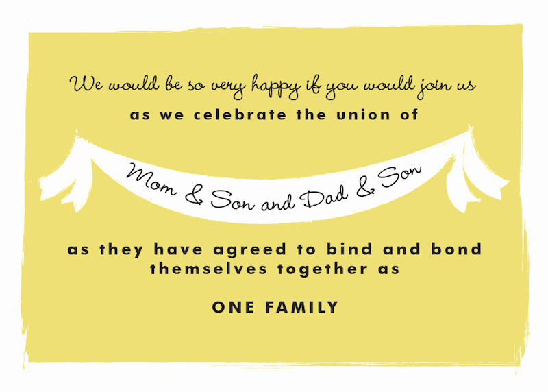 Get together Invitation Message Luxury Steal This Invitation Wording for Your Own Blended Family