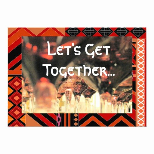 Get together Invitation Message New Lunch to Her Invitation