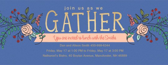 Get together Invitation Message Unique Free Brunch & Lunch Party Invitations