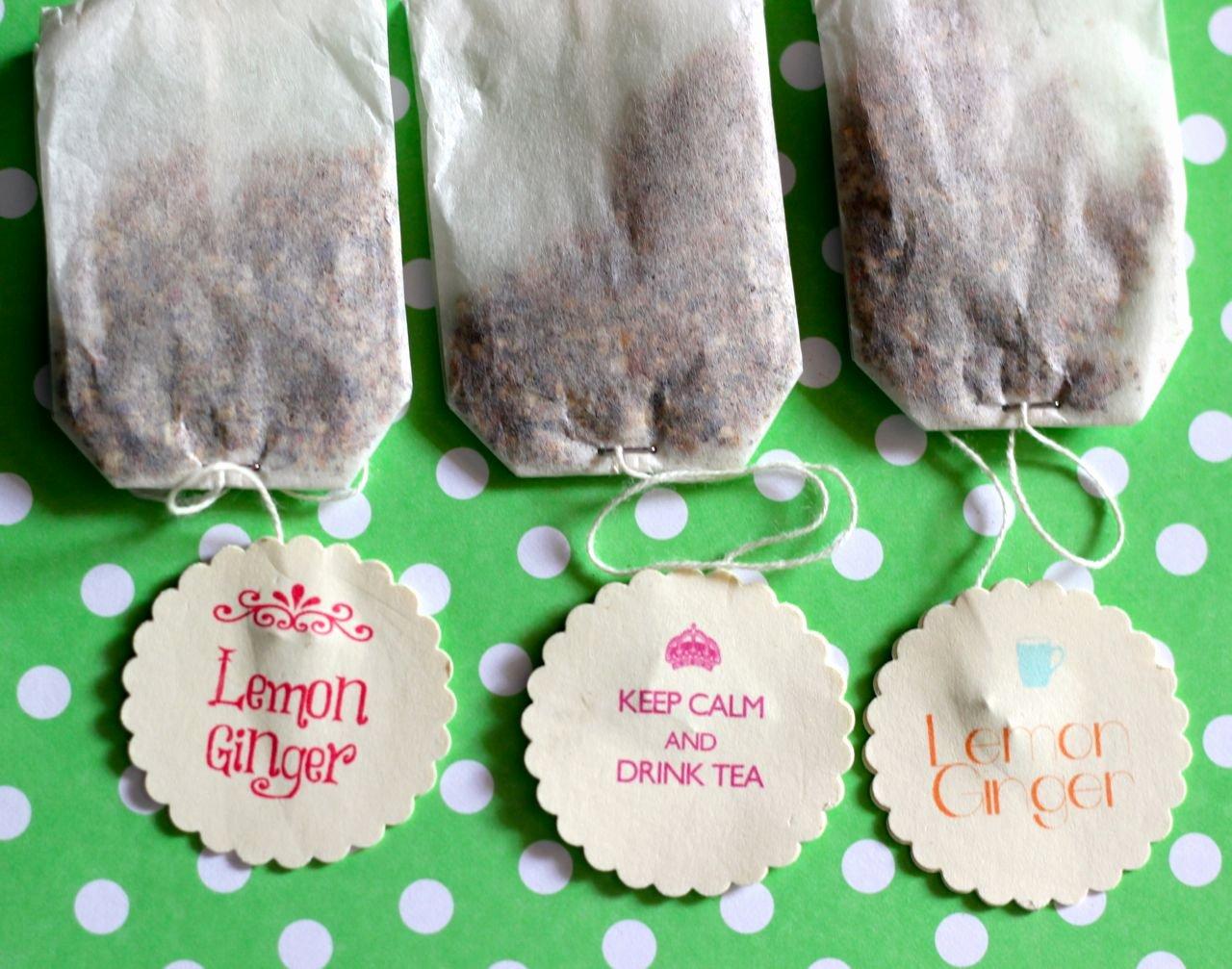 Gift Bag Tag Template Elegant Diy Tea Bags Quotes Bewhatwelove