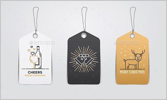 Gift Bag Tag Template Inspirational Tag Template – 13 Free Printable Psd Eps Ai Illustrator File format Download