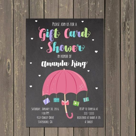 Gift Card Baby Shower Beautiful Best 25 Umbrella Baby Shower Ideas On Pinterest