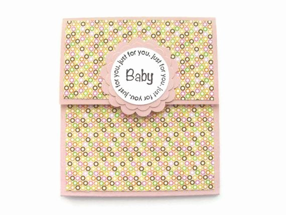 Gift Card Baby Shower Unique Baby Shower Gift Card Holder Baby Girls New Baby Giftpink