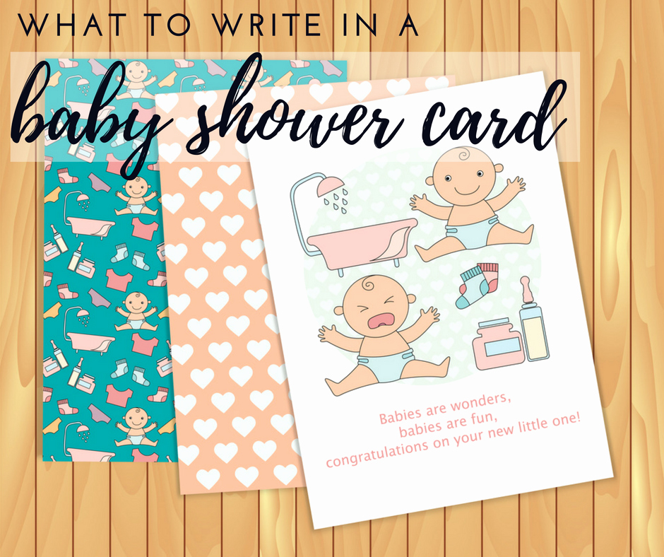 Gift Card Baby Showers Fresh What to Write In A Baby Shower Card Cheekytummy