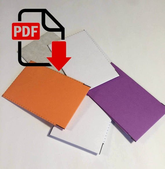 Gift Card Envelope Template Awesome Gift Card Envelope Blank Template Pdf Download