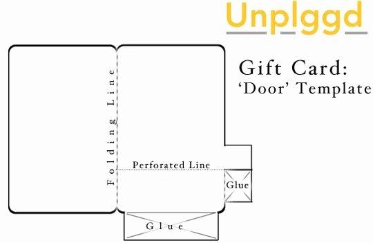 Gift Card Envelope Template Beautiful Diy Gift Card Envelopes