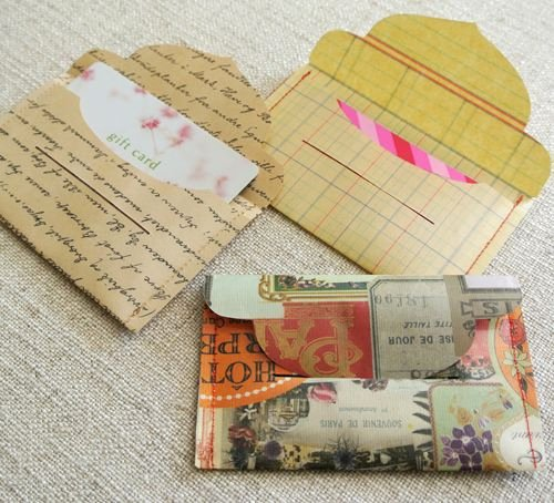 Gift Card Envelope Template Best Of Laminate & Sew T Card Envelopes From Cathe Holden