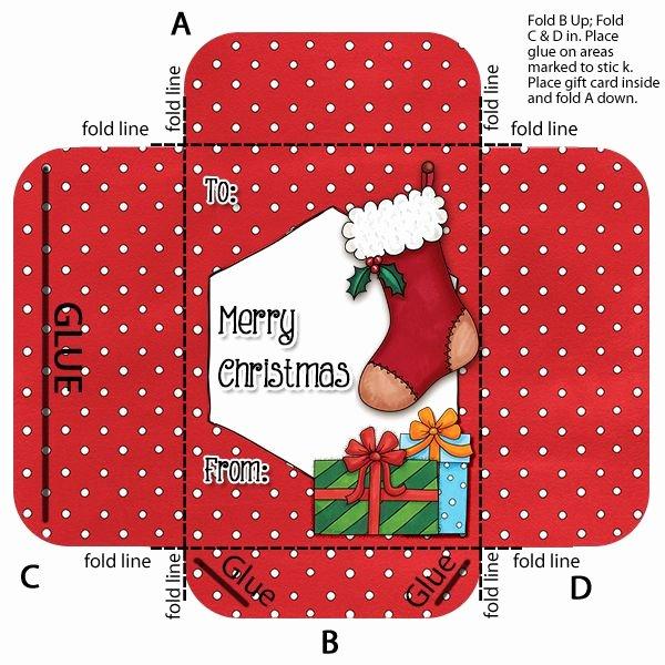 Gift Card Envelope Template Lovely Make Your Own Gift Card Envelope Holder
