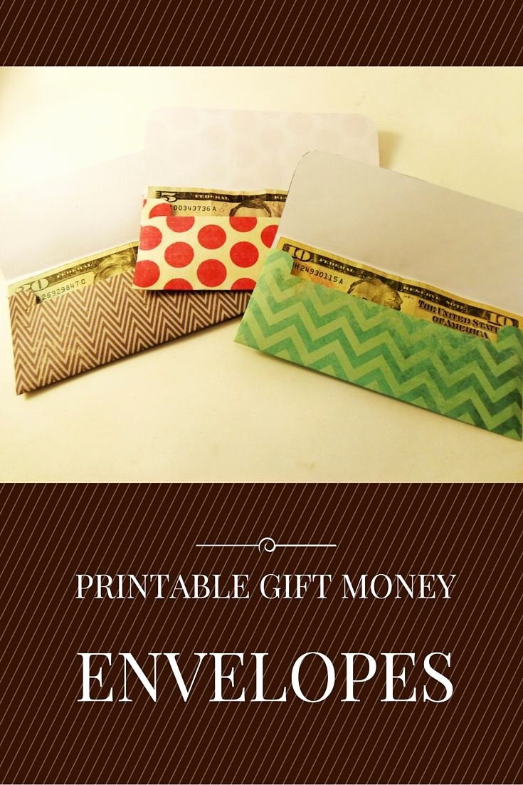 Gift Card Envelope Templates Elegant Gift Money Envelope Templates Printables