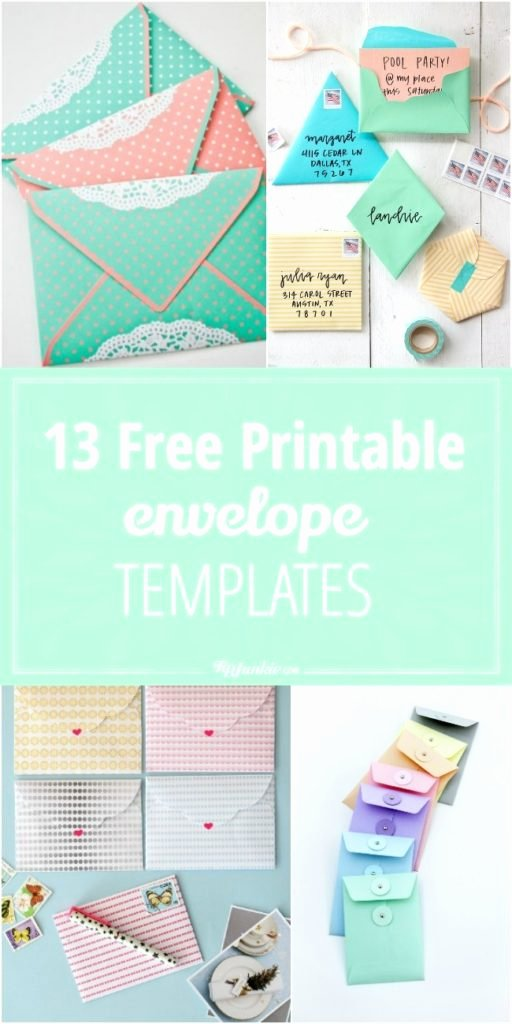 Gift Card Envelopes Templates Fresh 13 Free Printable Envelope Templates – Tip Junkie