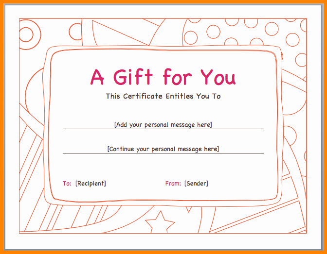 Gift Certificate Wording Examples Best Of Funny T Vouchers Templates