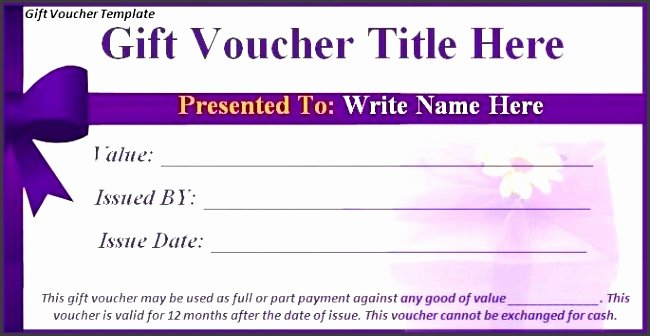 Gift Certificate Wording Examples Fresh 5 Gift Voucher Wording Sampletemplatess Sampletemplatess