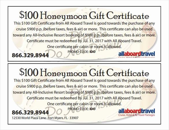 Gift Certificate Wording Examples Fresh Gift Certificate Template 42 Examples In Pdf Word In Design format