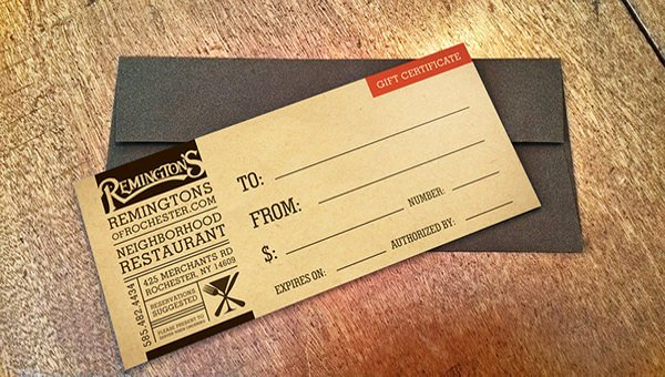 Gift Certificate Wording Examples Lovely 20 Restaurant Gift Certificate Templates – Free Sample Example format Download