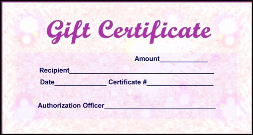 Gift Certificate Wording Examples Unique End Zone Gift Card – Tv31net