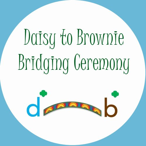Girl Scout Bridging Certificate Awesome Daisy to Brownie Bridging Ceremony – Use Resources Wisely