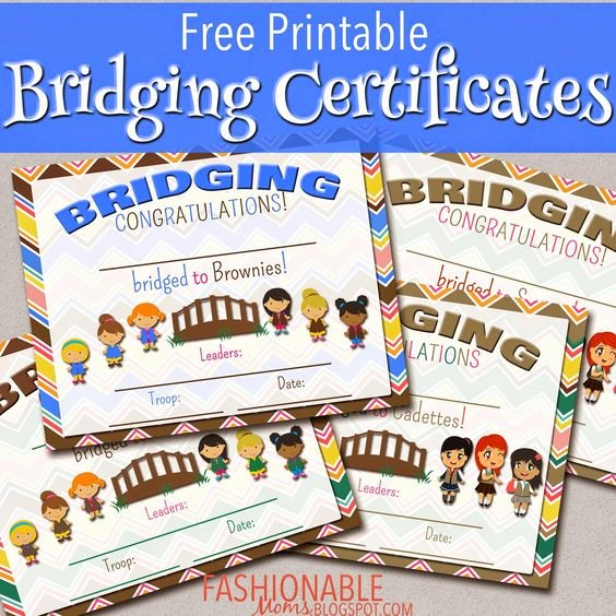 Girl Scout Bridging Certificate Beautiful Pinterest • the World's Catalog Of Ideas