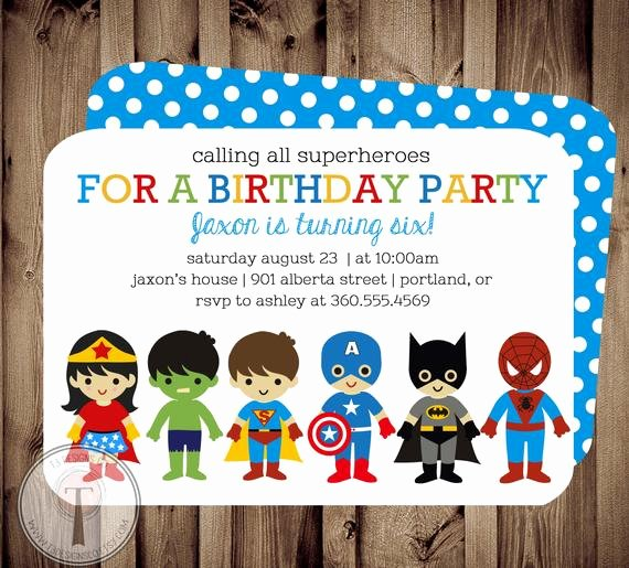 Girl Superhero Birthday Invitations Inspirational Superhero and Super Girl Birthday Invitation by T3designsco