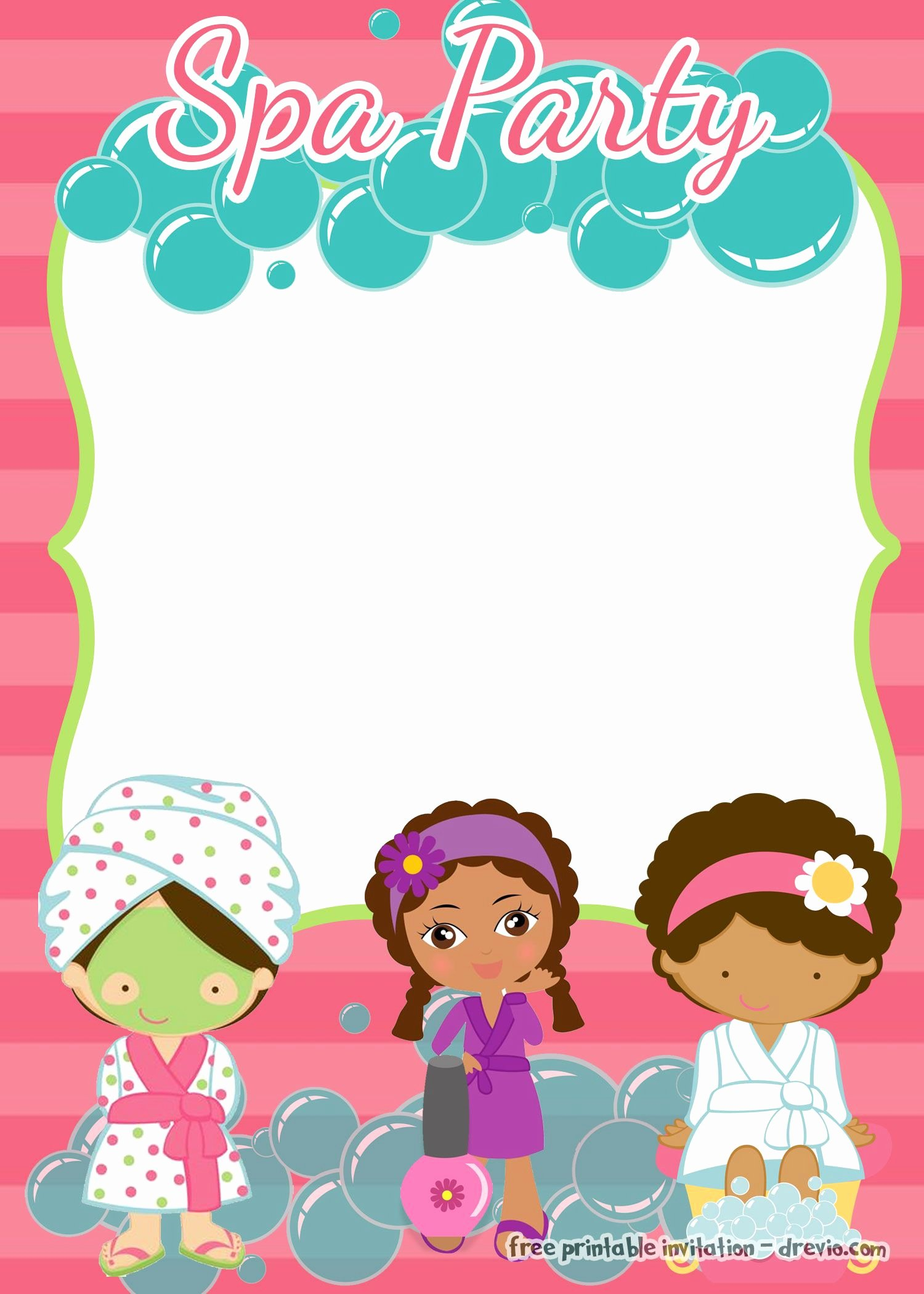 Girls Spa Party Invitations New Pin On Parties