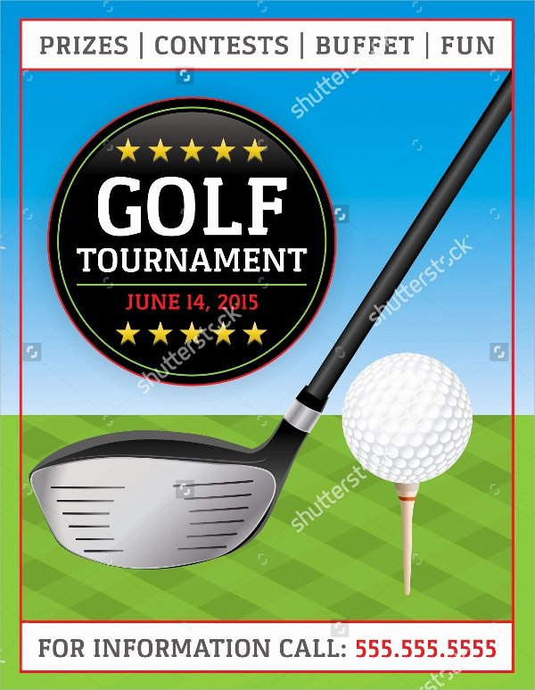 Golf Flyer Template Free Fresh Golf tournament Flyer Template 24 Download In Vector Eps Psd