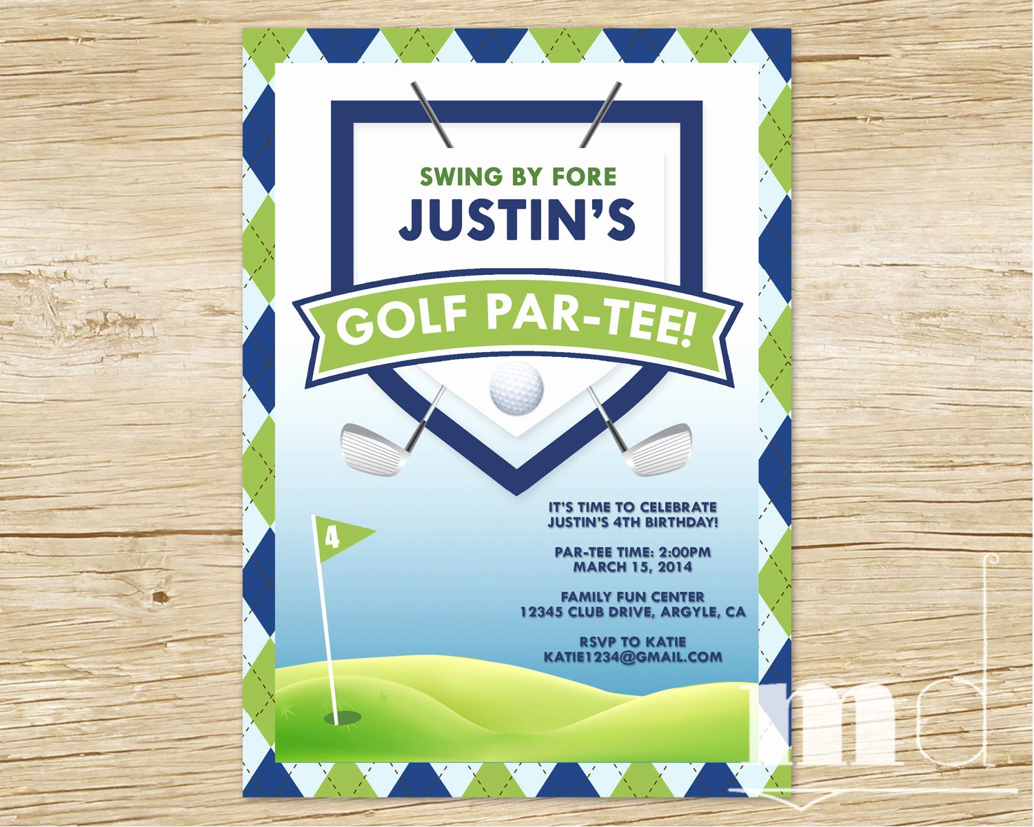 Golf Invitation Template Free Lovely Golf themed Birthday Invitations Ideas – Bagvania Free Printable Invitation Template