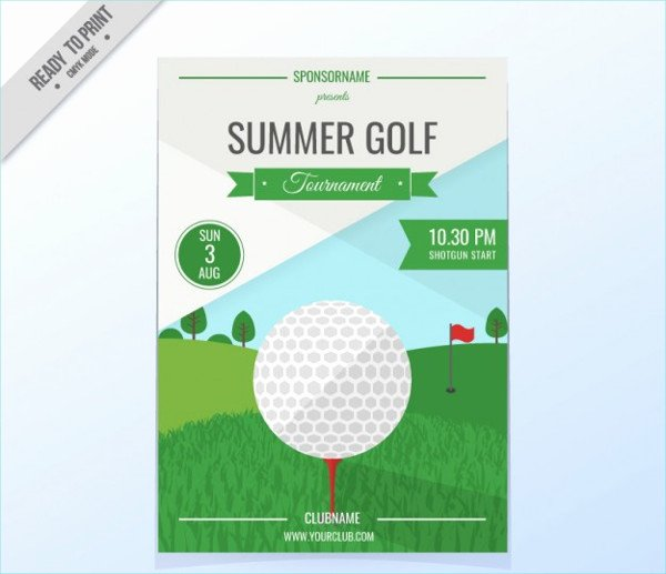 Golf Outing Flyer Template Best Of Free 33 event Poster Designs & Examples Psd Ai Eps Vector