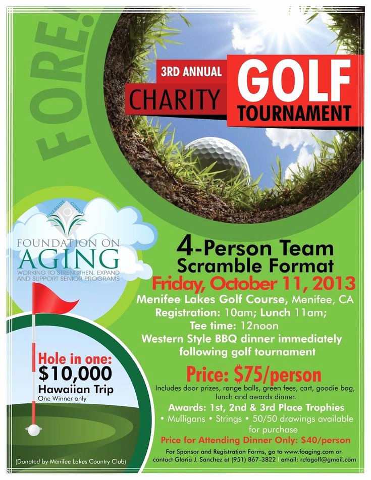 Golf Outing Flyer Template Fresh 179 Best Images About Golf tournaments On Pinterest