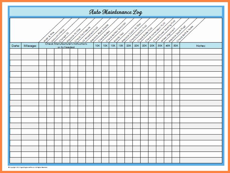 Golf Practice Schedule Template Elegant Basic Car Maintenance Schedule