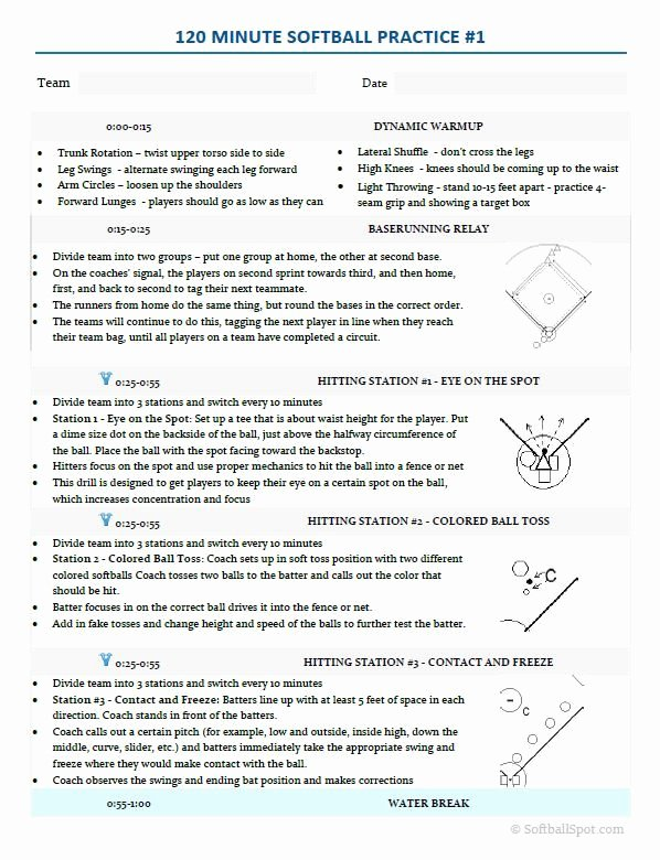 Golf Practice Schedule Template Lovely 23 Best softball Clip Art Images On Pinterest