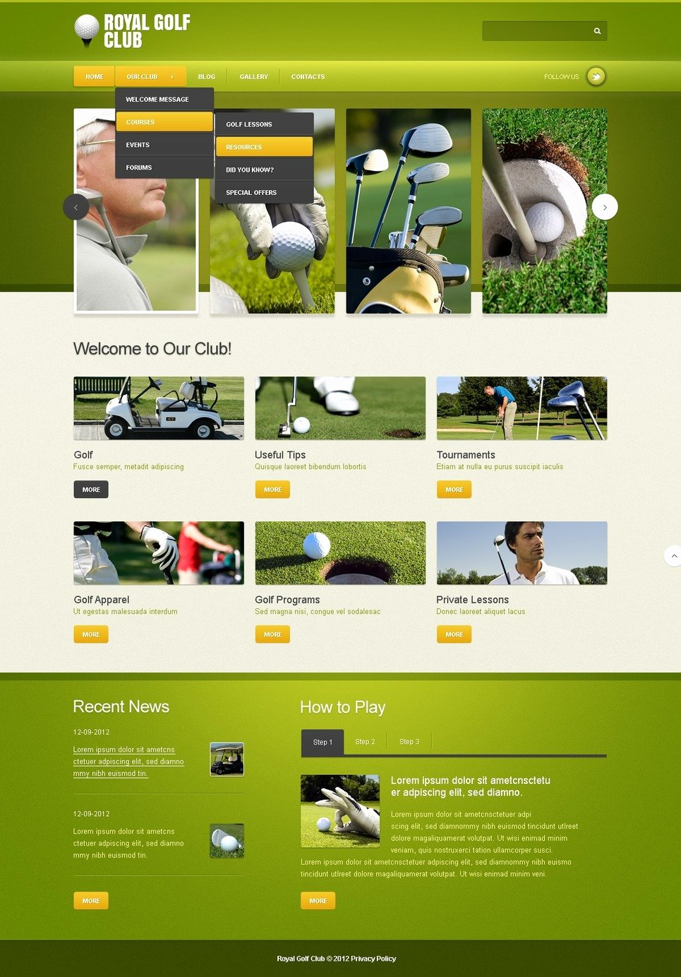 Golf Practice Schedule Template Luxury Golf Joomla Template Web Design Templates Website Templates Download Golf Joomla Template