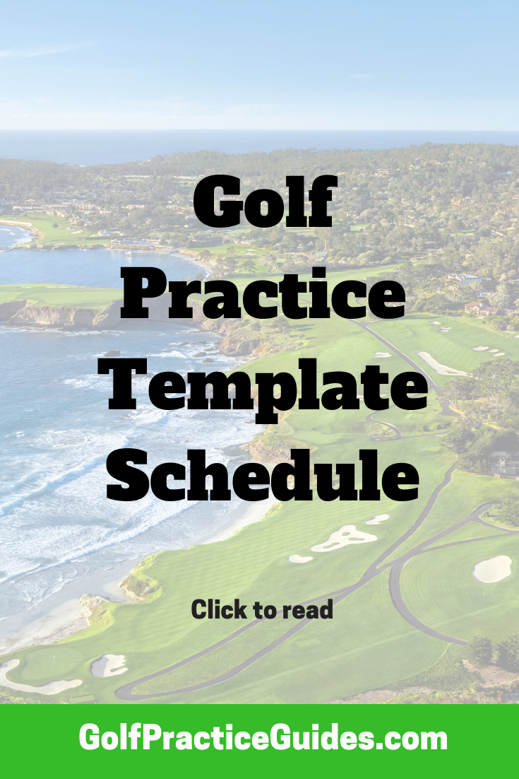 Golf Practice Schedule Template Unique Golf Practice Plan Template Golf