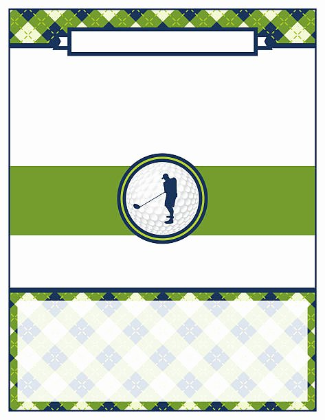 Golf Scramble Flyer Template Awesome Royalty Free Blank Golf Invitation Clip Art Vector & Illustrations istock