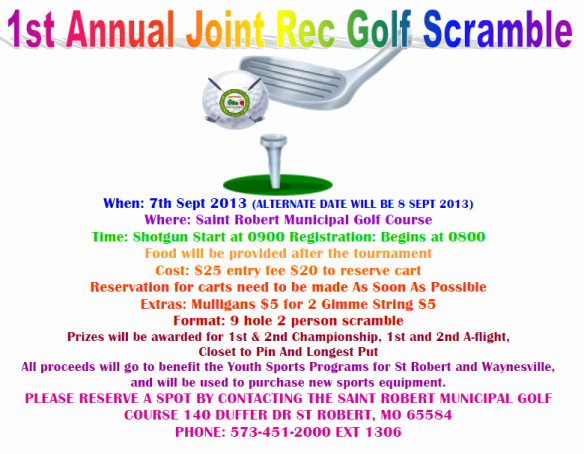 Golf Scramble Flyer Template Best Of This Week Around Pulaskicountyusa Blogs Examiner