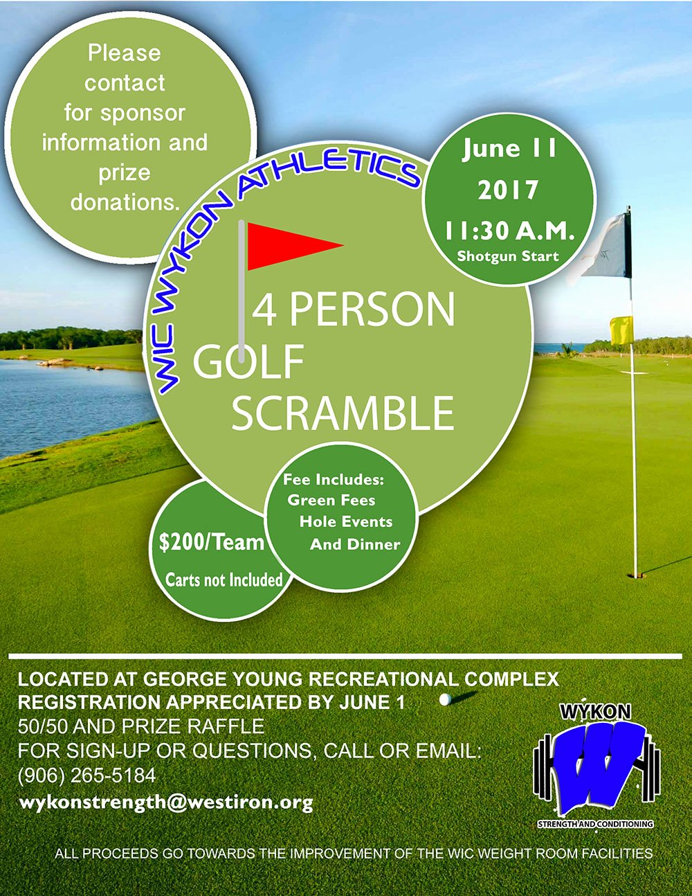Golf Scramble Flyer Template Elegant Golf Scramble