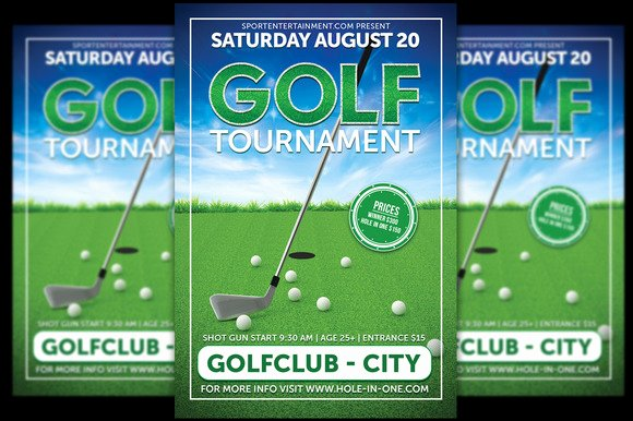 Golf Scramble Flyer Template Fresh Free Golf Scramble Flyer Template Designtube Creative Design Content