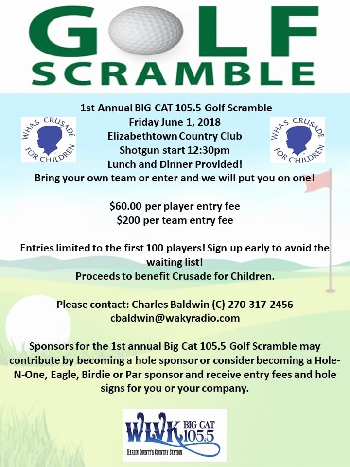 Golf Scramble Flyer Template Fresh Golf Scramble