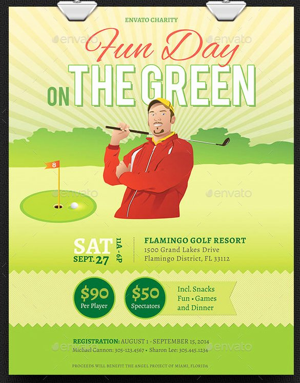 Golf Scramble Flyer Template Inspirational 48 Fundraiser Flyer Templates Psd Eps Ai Word