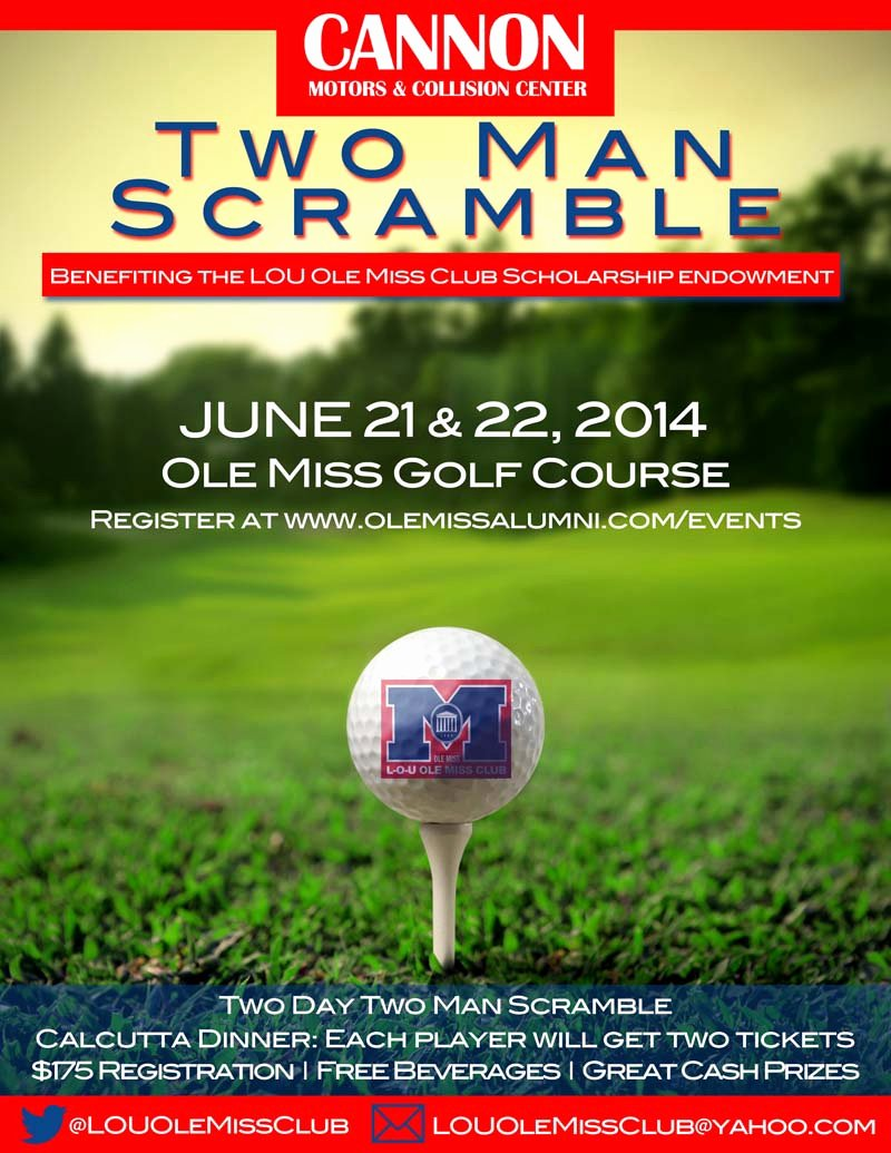 Golf Scramble Flyer Template New Cannon Motor S Two Man Scramble Supports Local Scholarships Hottytoddy