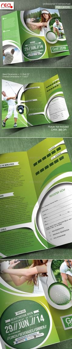 Golf tournament Brochure Template Beautiful Golf tournament Flyer Design Inspiration Pinterest