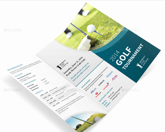 Golf tournament Brochure Template Best Of 10 Popular Free and Premium Golf Brochure Templates & Designs to Download